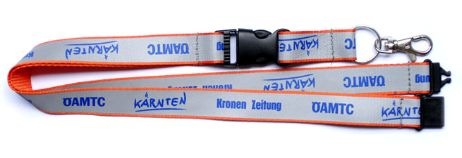 Lanyards catarifrangenti